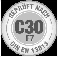 Prüfsiegel C30 F7