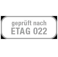 Pruefsiegel ETAG-22